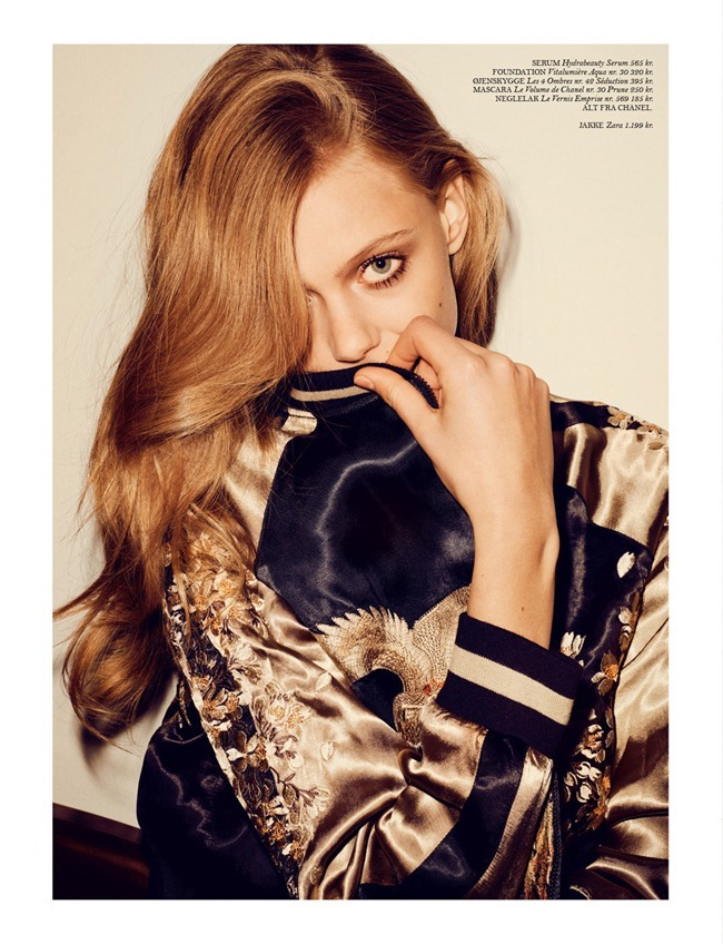 COVER MAGAZINE- Frida Gustavsson in Coco by Hasse Nielsen. Emelie Johansson, April 2013, www.imageamplified.com, Image Amplified (3)