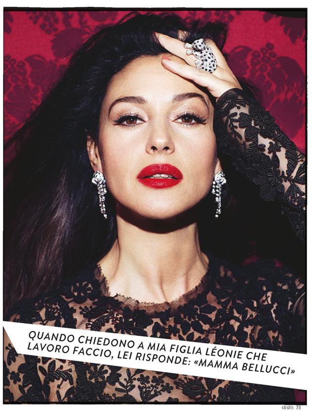 GRAZIA ITALIA- Monica Bellucci by Bruno Dayan. Michaela Guasco, March 2013, www.imageamplified.com, Image Amplified (3)