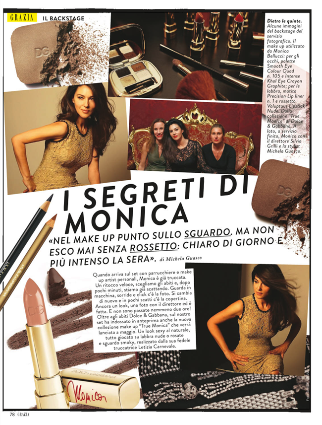 GRAZIA ITALIA- Monica Bellucci by Bruno Dayan. Michaela Guasco, March 2013, www.imageamplified.com, Image Amplified (7)