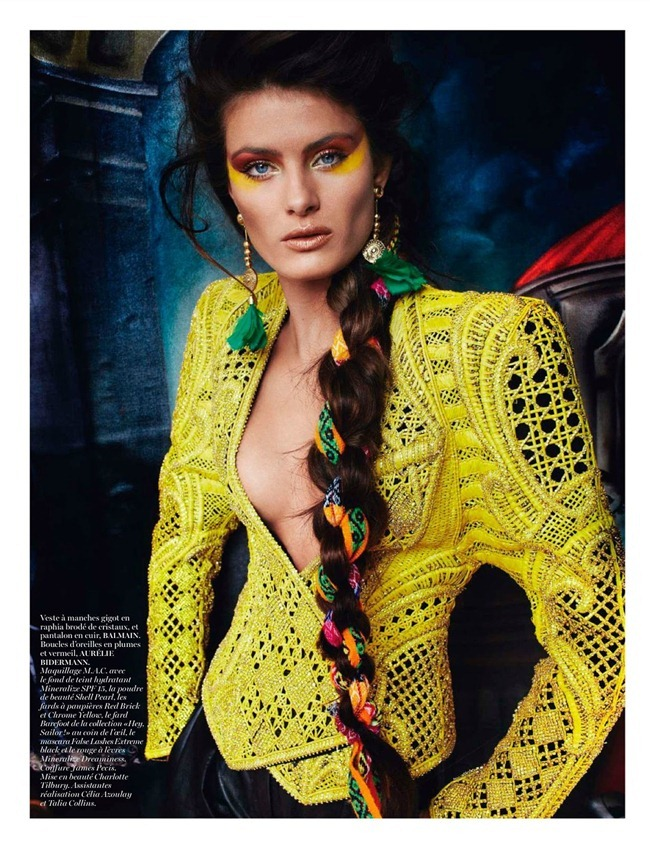 VOGUE PARIS- Isabeli Fontana in Inca by Mario Testino. Emmanuelle Alt, April 2013, www.imageamplified.com, Image Amplified (1)