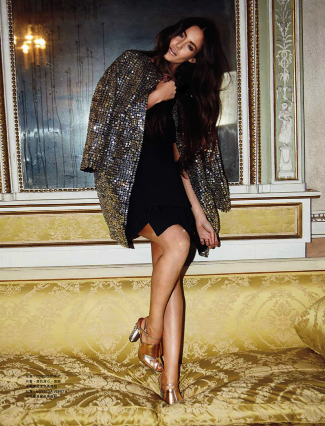HARPER'S BAZAAR HONG KONG- Marina Torres in Sensuous Delights by Olivier Desarte. Crystal W, April 2013, www.imageamplified.com, Image Amplified (2)