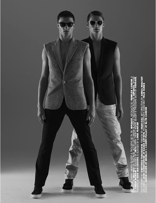 Picture About Male Model Jacob Coupe & Harry Pulley Covering For Homme Style Magazine Captured by Dimitris Theocaris