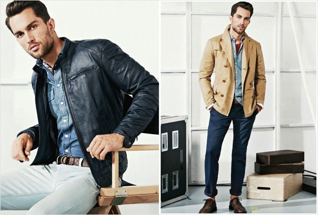 Picture About Male Model Andres Velencoso Segura & Tobias Sorensen Covering for He by Mango Spring 2013