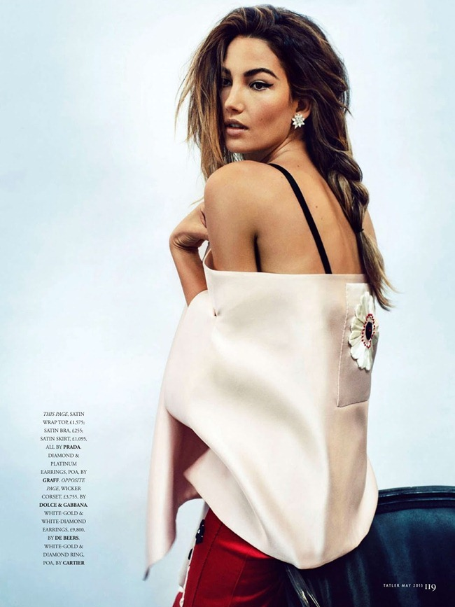 TATLER UK- Lily Aldridge in Red Hot Mama by Marc Hom. Deep Kailey, May 2013, www.imageamplified.com, Image Amplified (3)