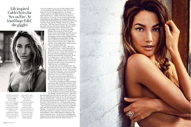 TATLER UK- Lily Aldridge in Red Hot Mama by Marc Hom. Deep Kailey, May 2013, www.imageamplified.com, Image Amplified (5)
