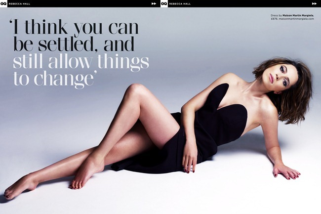GQ UK- Rebecca Hall in Iron Lady by Jermaine Frances. Sascha Lilic, May 2013, www.imageamplified.com, Image Amplified (1)