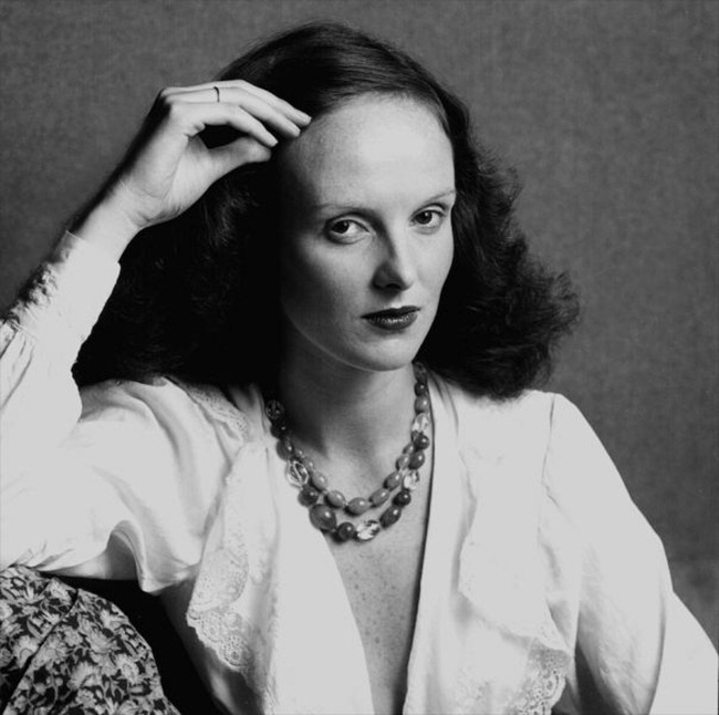 WE ♥ GRACE CODDINGTON- Grace Coddington, 1973 by Willie Christie. www.imageampilfied.com, Image Amplified