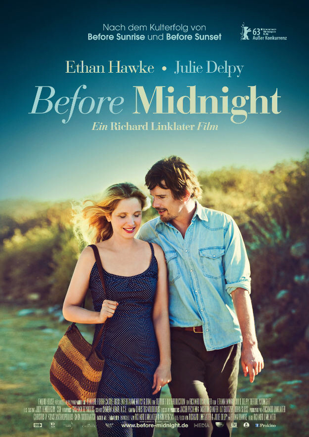 CINEMA SCAPE: Before Midnight by Richard Linklater Starring Ethan Hawke & Julie Delpy. In Theaters May 24, 2013