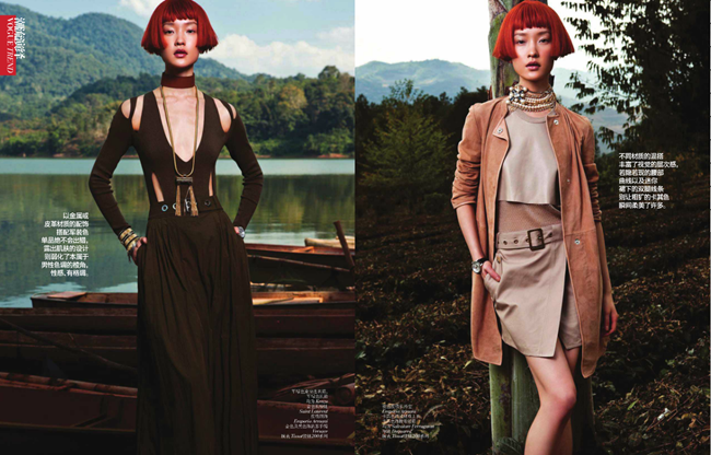 VOGUE CHINA- Du Juan in Elegant Safari by Li Qui. Candy Lee, May 2013, www.imageamplified.com, Image Amplified (2)