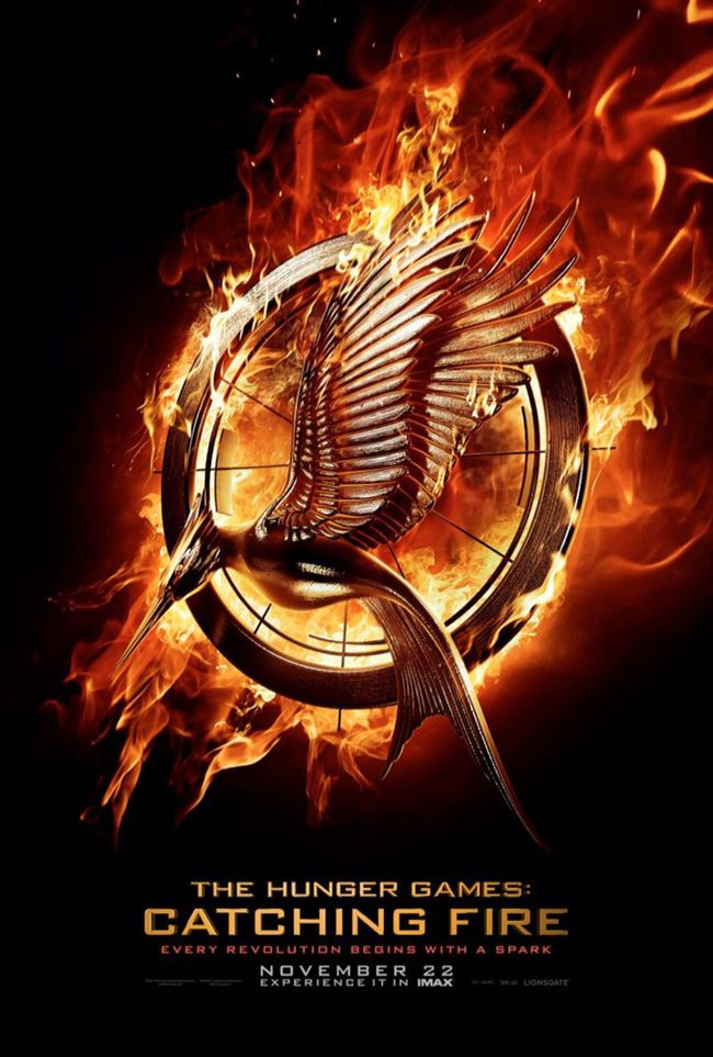 CINEMA SCAPE: The Hunger Games Catching Fire by Francis Lawrence Starring Jennifer Lawrence. In Theaters November 22, 2013