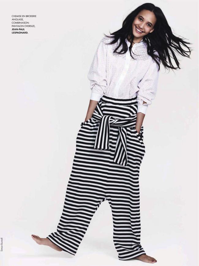 ELLE FRANCE- Cora Emmanuel in Elle Aime La Mode by Simon Burstall. Chloe Dugast, April 2013, www.imageamplified.com, Image Amplified (4)