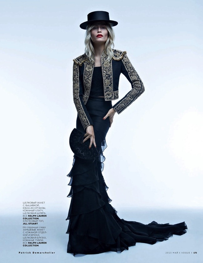 VOGUE RUSSIA- Natasha Poly in Carmen and Torero by Patrick Demarchelier. Olga Dunina, May 2013, www.imageamplified.com, Image Amplified (8)