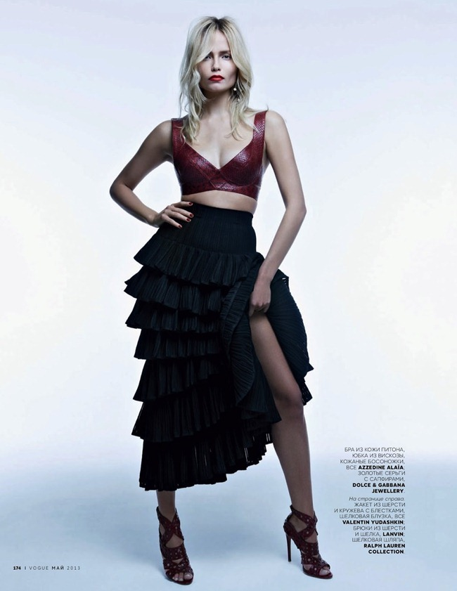 VOGUE RUSSIA- Natasha Poly in Carmen and Torero by Patrick Demarchelier. Olga Dunina, May 2013, www.imageamplified.com, Image Amplified (9)