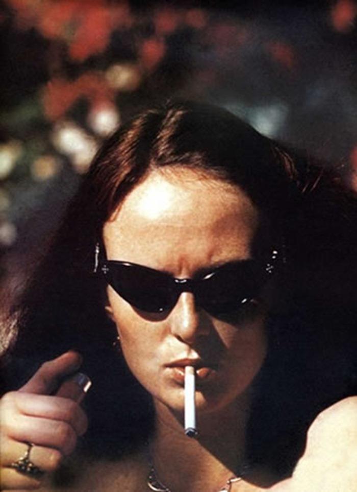 WE ♥ GRACE CODDINGTON- Grace Coddington, 1973 by Helmut Newton. www.imageampilfied.com, Image Amplified