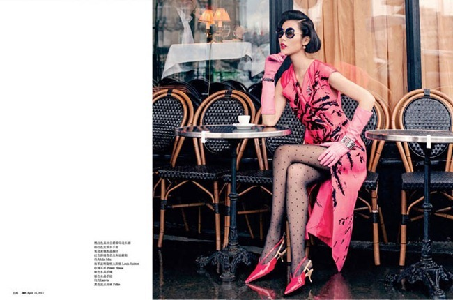 OK! CHINA- Liu Wen in Girl with Pearl Earrings by Jumbo Tsui. April 2013, www.imageamplified.com, Image Amplified (4)