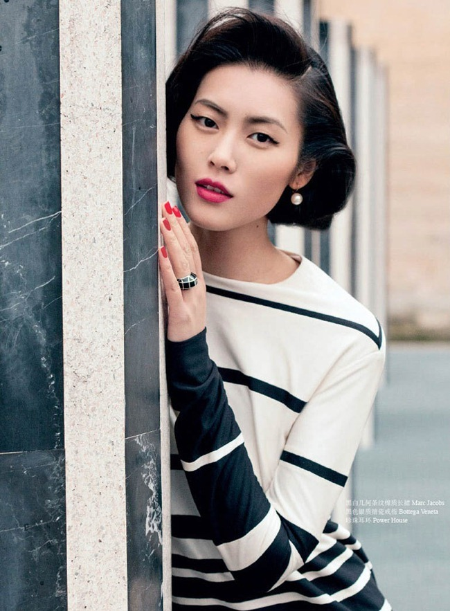 OK! CHINA- Liu Wen in Girl with Pearl Earrings by Jumbo Tsui. April 2013, www.imageamplified.com, Image Amplified (8)