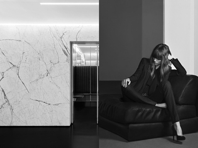 CAMPAIGN- Freja Beha Erichsen for Saint Laurent Pre-Fall 2013 by Hedi Slimane. www.imageamplified.com, Image Amplified (4)
