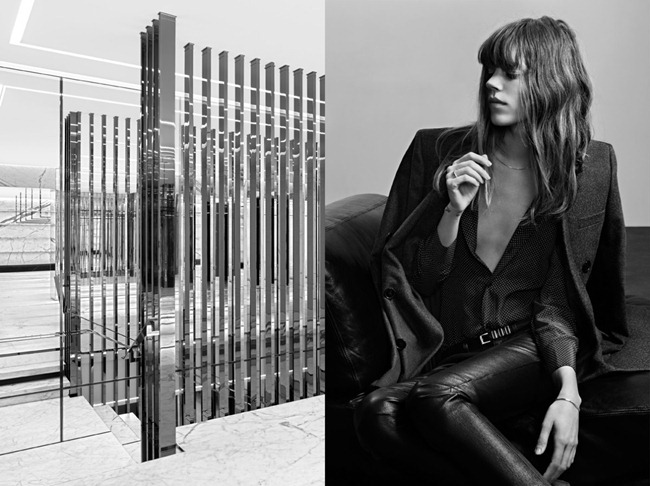 CAMPAIGN- Freja Beha Erichsen for Saint Laurent Pre-Fall 2013 by Hedi Slimane. www.imageamplified.com, Image Amplified