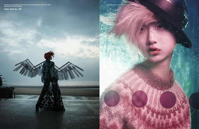 I-D MAGAZINE- Xiao Wen & Yue Ning in Be A Charmeleon.. by Solve Sundsbo. Charlotte Stockdale, Summer 2013, www.imageamplified.com, Image Amplified (7)