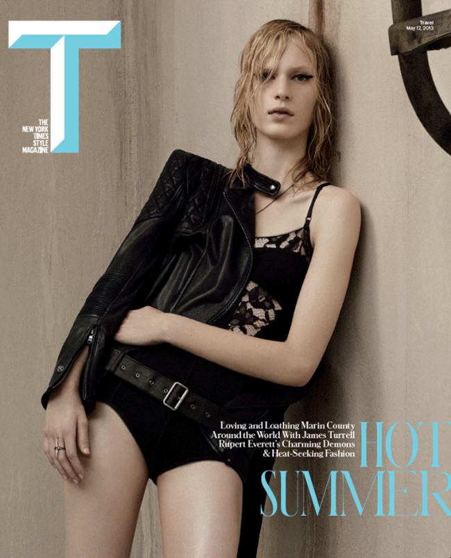 T STYLE MAGAZINE- Julia Nobis & Fei Fei Sun in Too Tough To Handle by Craig McDean. Joe McKenna, Summer 2013, www.imageamplified.com, Image Amplified