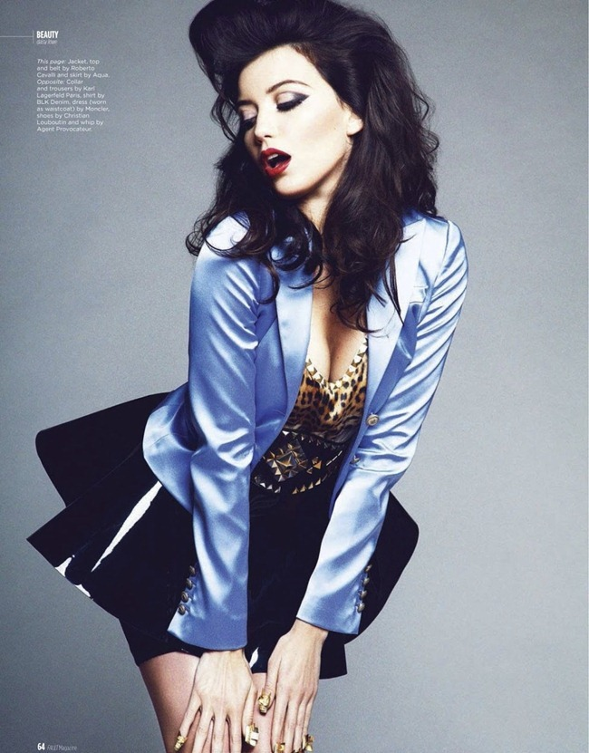 FAULT MAGAZINE- Daisy Lowe in Lowe & Behold by Louie Banks. Marika Page, Spring 2013, www.imageamplified.com, Image Amplified (4)