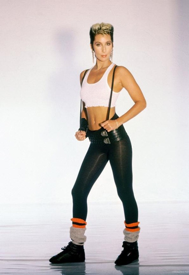 WE ♥ CHER- Cher for Jack Lalane Holiday Spa, 1985. www.imageampilfied.com, Image Amplified (23)