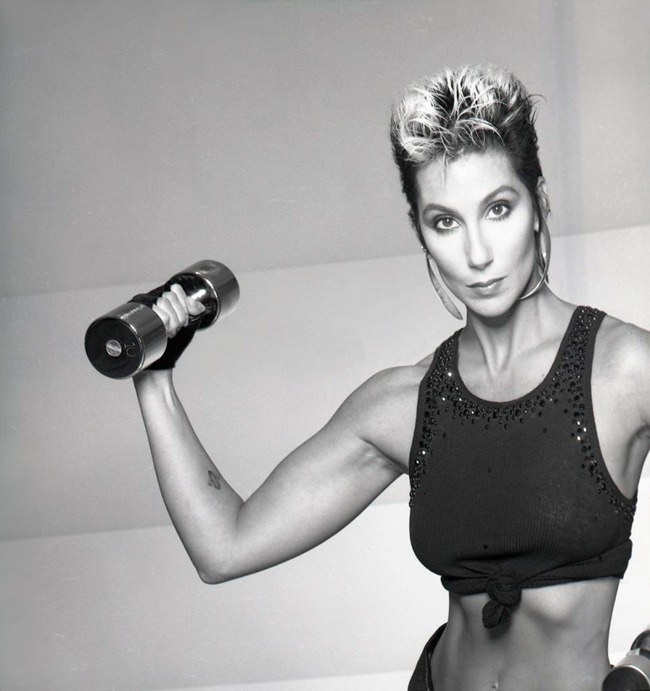 WE ♥ CHER- Cher for Jack Lalane Holiday Spa, 1985. www.imageampilfied.com, Image Amplified (1)