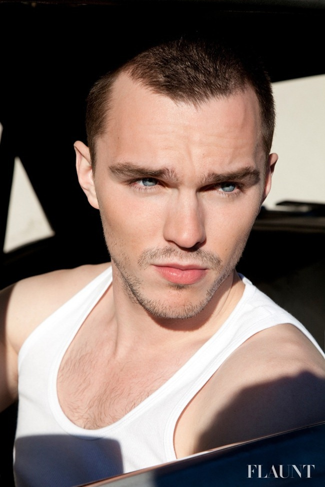FLAUNT MAGAZINE- Nicholas Hoult by Thomas Giddings. www.imageamplified.com, Image Amplified