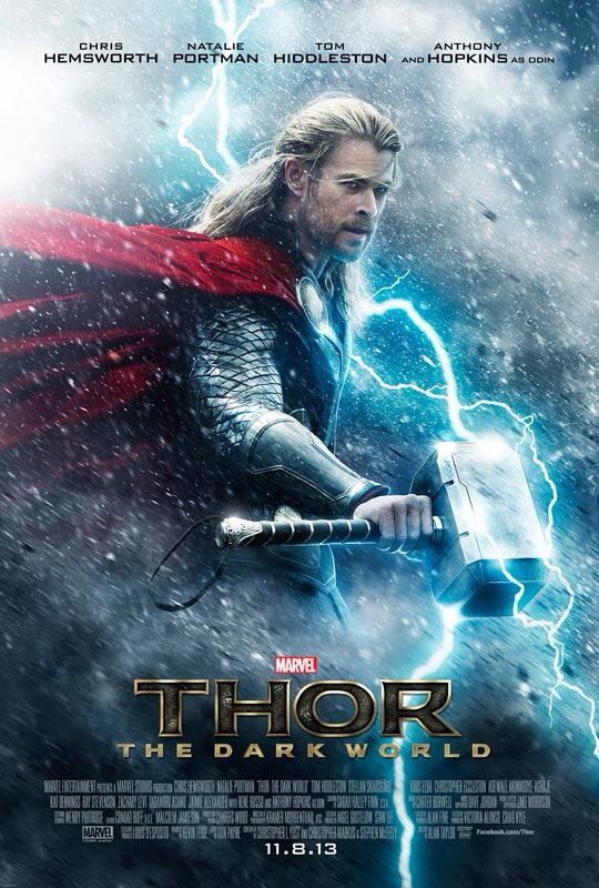 CINEMA SCAPE: Thor The Dark World by Alan Taylor Starring Chris Hemsworth & Natalie Portman. In Theaters November 8, 2013