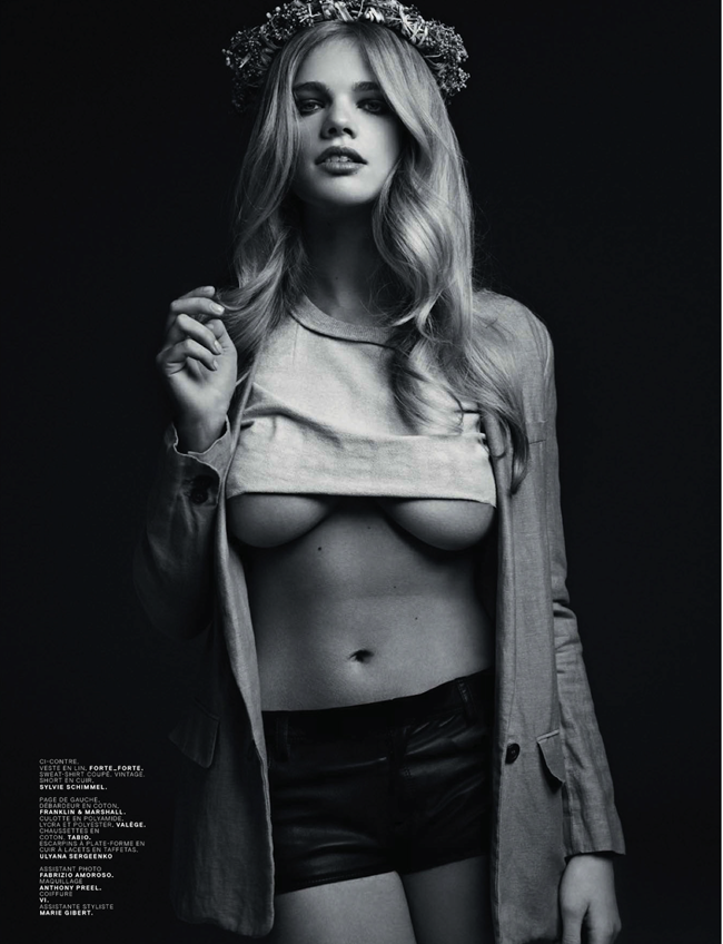 JALOUSE MAGAZINE- Valerie van der Graaf & Amber Anderson in Cicciolinas by Stian Foss. Jennifer Eymere, May 2013, www.imageamplified.com, Image Amplified (16)