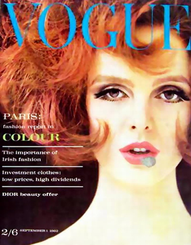 WE ♥ GRACE CODDINGTON- Grace Coddington for Vogue UK, September 1962. www.imageampilfied.com, Image Amplified (1)