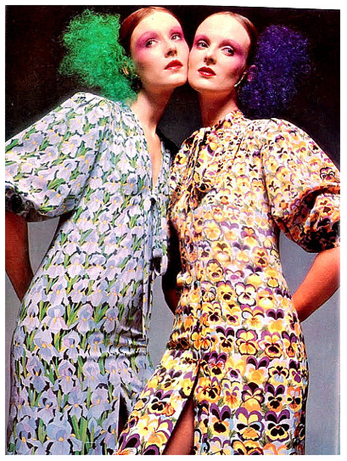 WE ♥ GRACE CODDINGTON- Grace Coddington for Vogue UK, March 1971 by Barry Lategan. www.imageampilfied.com, Image Amplified