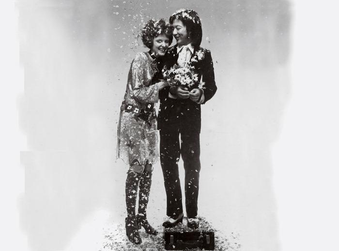 WE ♥ GRACE CODDINGTON- Grace Coddingtonin  & Michael Chow by Barry Lategan. 1969, www.imageampilfied.com, Image Amplified