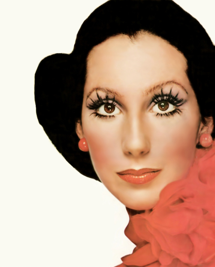 WE ♥ CHER- Cher for Vogue, December 1972 by Richard Avedon. www.imageampilfied.com, Image Amplified