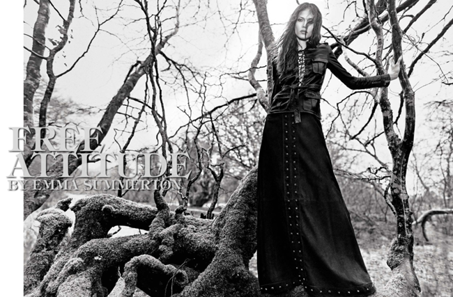 VOGUE ITALIA- Aymeline Valade in Free Attitude by Emma Summerton. Sarah Richardson, May 2013, www.imageamplified.com, Image Amplified
