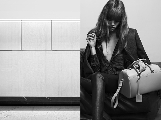 CAMPAIGN- Freja Beha Erichsen for Saint Laurent Pre-Fall 2013 by Hedi Slimane. www.imageamplified.com, Image Amplified (2)
