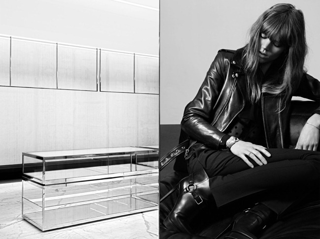 CAMPAIGN- Freja Beha Erichsen for Saint Laurent Pre-Fall 2013 by Hedi Slimane. www.imageamplified.com, Image Amplified (6)