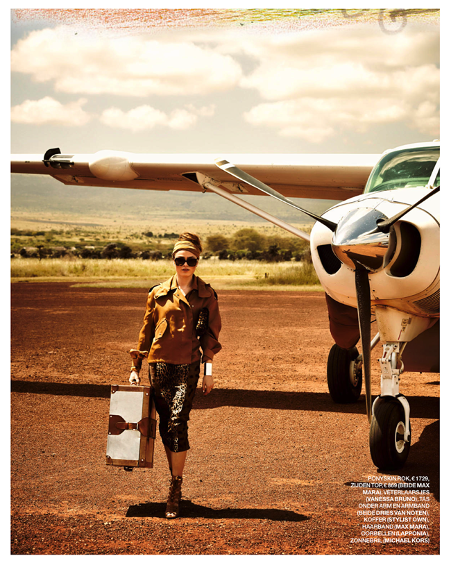 MARIE CLAIRE NETHERLANDS- Sophie Vlaming in Out of Africa by Hans van Brakel. Simone Dernee, June 2013, www.imageamplified.co, Image Amplified (1)