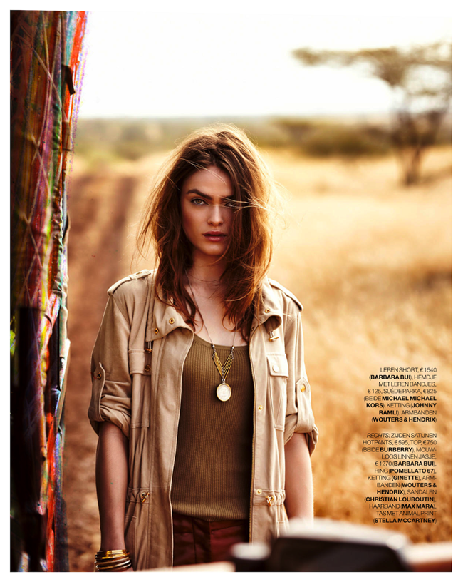 MARIE CLAIRE NETHERLANDS- Sophie Vlaming in Out of Africa by Hans van Brakel. Simone Dernee, June 2013, www.imageamplified.co, Image Amplified (4)