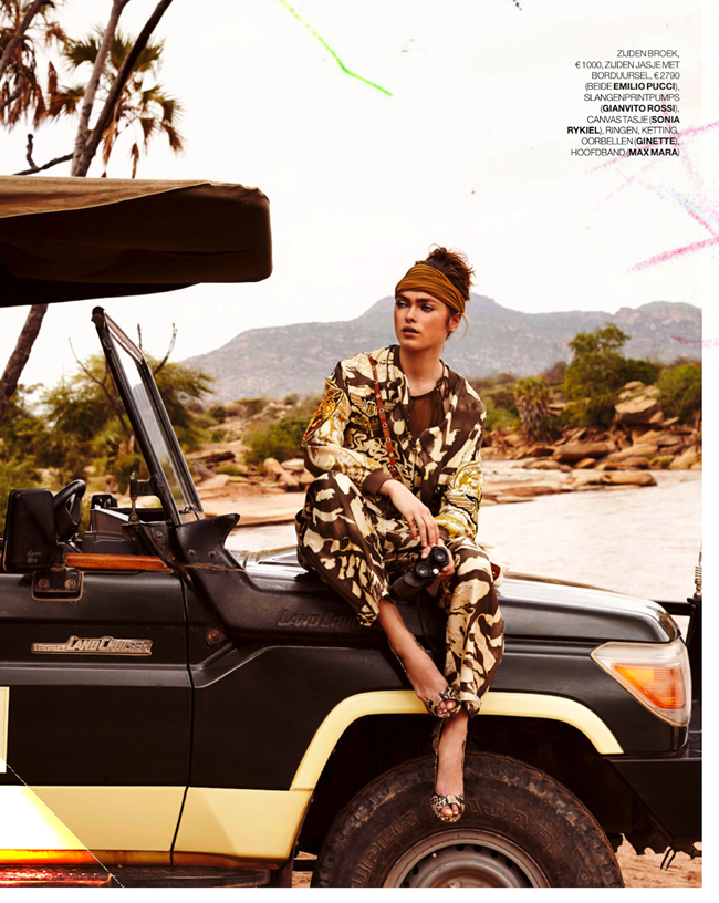 MARIE CLAIRE NETHERLANDS- Sophie Vlaming in Out of Africa by Hans van Brakel. Simone Dernee, June 2013, www.imageamplified.co, Image Amplified (8)