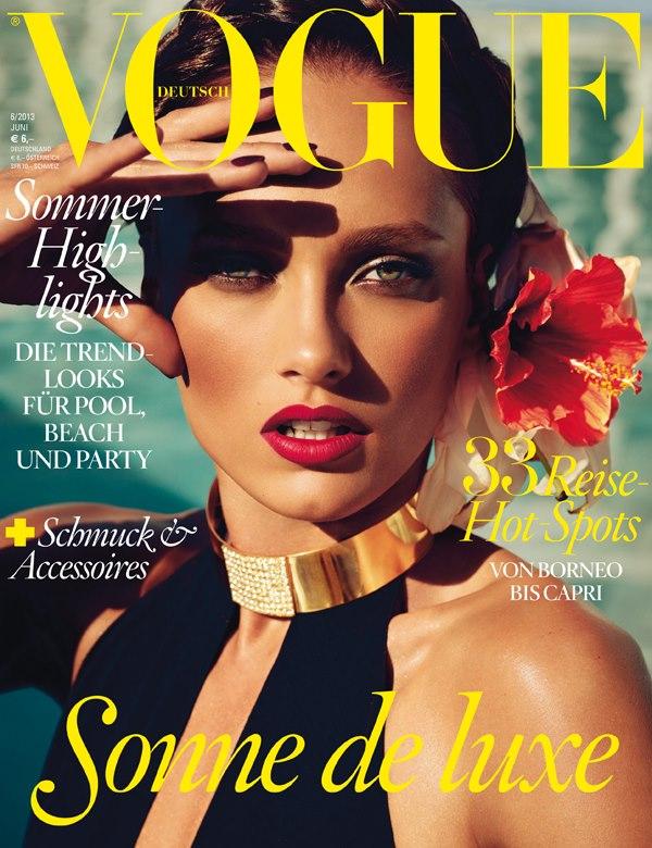 PREVIEW: Karmen Pedaru for Vogue Germany, June 2013 by Photographer Alexi Lubomirski