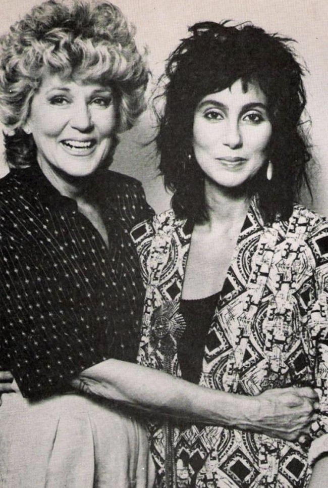 WE ♥ CHER- Cher & Georgia Holt in Mothers Day, 1986 by Ron Wolfson. www.imageampilfied.com, Image Amplified