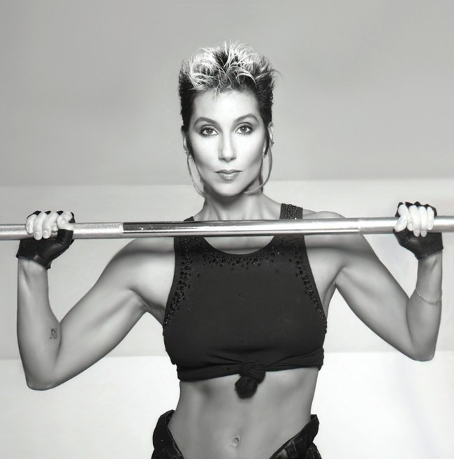 WE ♥ CHER- Cher for Jack Lalane Holiday Spa, 1985. www.imageampilfied.com, Image Amplified (9)