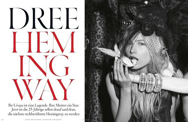 VOGUE GERMANY- Dree Hemingway by Bruce Weber, June 2013, www.imageamplified.com, Image Amplified