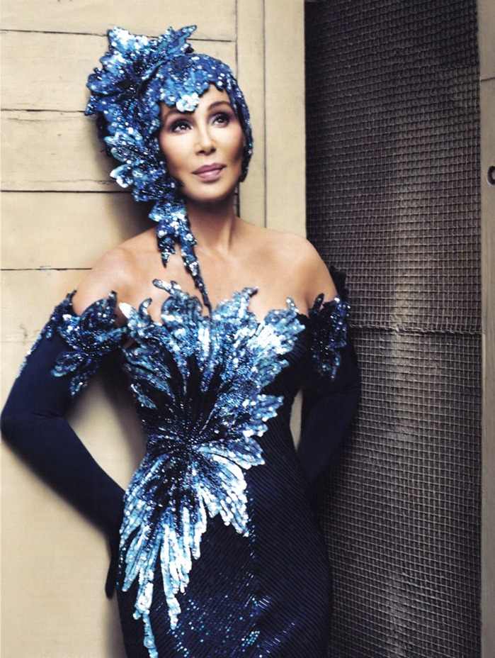 WE ♥ CHER- Cher for Vanity Fair, 2010 by Norman Jean Roy. www.imageampilfied.com, Image Amplified (3)