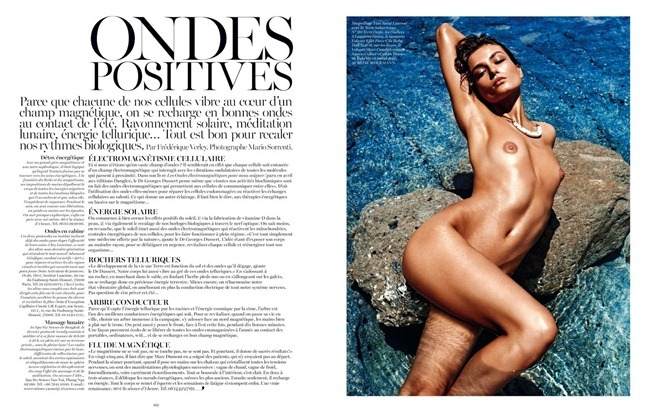 VOGUE PARIS- Andreea Diaconu by Mario Sorrenti, July 2013, www.imageamplified.com, Image Amplified