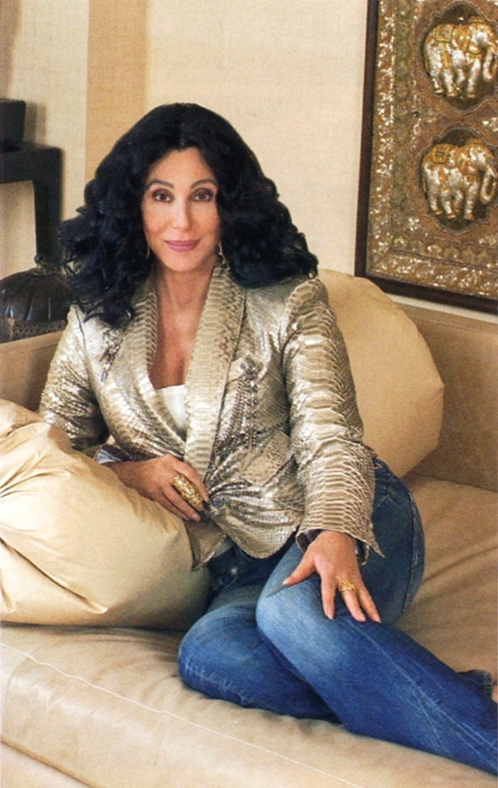 WE ♥ CHER- Cher for Architectural Digest, 2010 by Harry Benson. www.imageampilfied.com, Image Amplified (2)