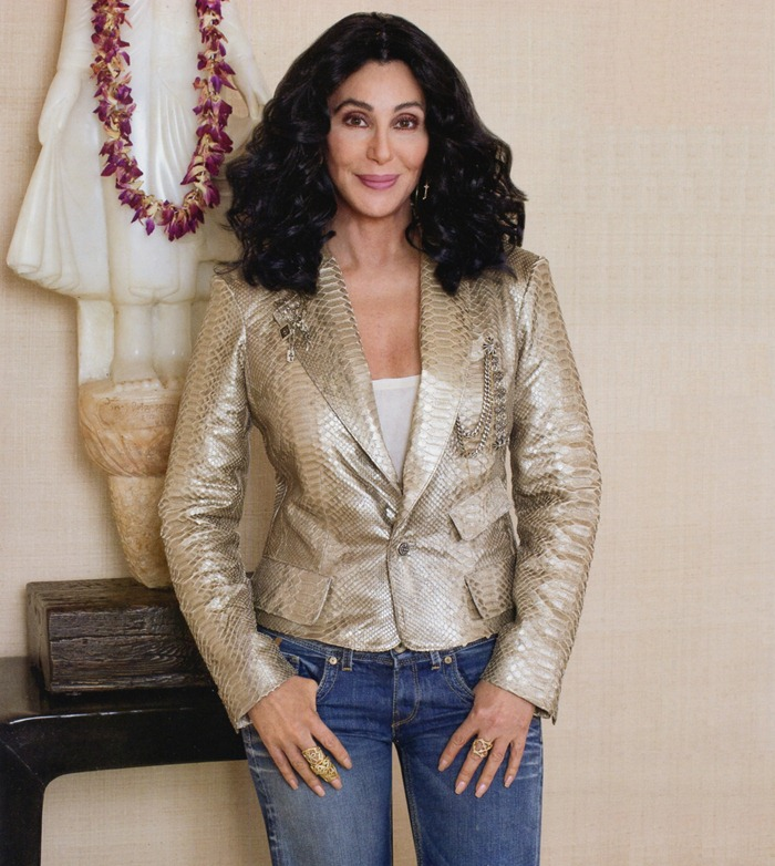WE ♥ CHER- Cher for Architectural Digest, 2010 by Harry Benson. www.imageampilfied.com, Image Amplified