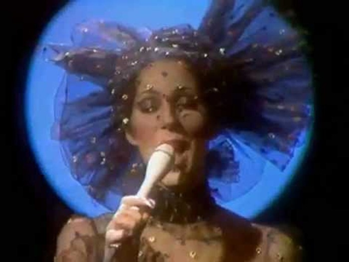 WE ♥ CHER- Cher in Dark Lady Music Video, 1973. www.imageampilfied.com, Image Amplified (2)