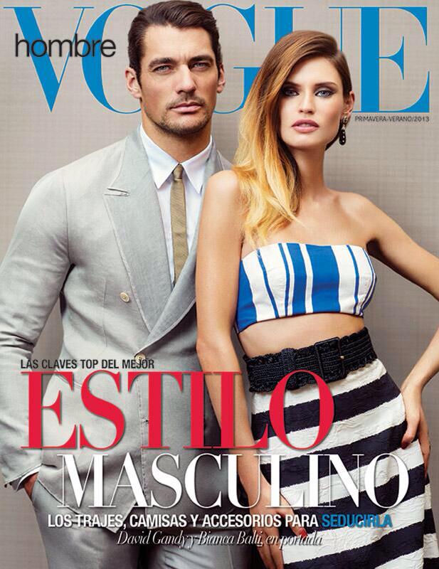 PREVIEW: Bianca Balti & David Gandy for Vogue Hombre, June 2013